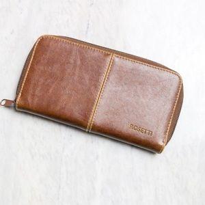 Rosetti Leather Wallet in Chestnut